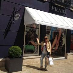 Photo taken at Prada Outlet by Nanda J. on 7/14/2012