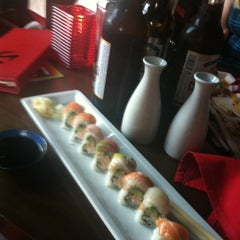 Photo taken at RA Sushi Bar Restaurant by Kari S. on 7/18/2012