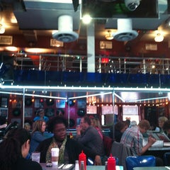 Photo taken at Ellen's Stardust Diner by Sierra R. on 5/1/2012