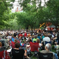 Photo taken at Mears Park by John E. on 7/1/2012