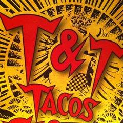 Photo taken at T&T Tacos & Tequila by dust g. on 5/16/2012