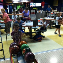 Photo taken at Mel's Lone Star Lanes by Eileen S. on 7/12/2012