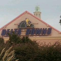 Photo taken at Delta Downs Racetrack, Casino & Hotel by Honorato B. on 7/9/2012