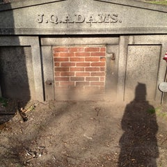 Photo taken at Hancock Cemetery by Jacque G. on 4/10/2012