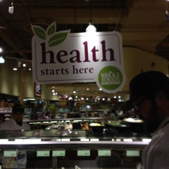Photo taken at Whole Foods Market by Michael O. on 4/6/2012