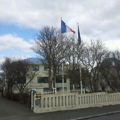 Photo taken at Ambassade de France by Jérôme V. on 4/22/2012