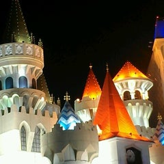 Photo taken at Excalibur Hotel & Casino by Sothy P. on 8/17/2012