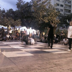 Photo taken at Plaza Luis Brión by Erika Z. on 9/5/2012