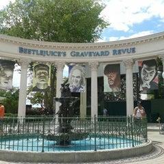 Photo taken at Beetlejuice's Graveyard MashUp by Lindsey B. on 4/16/2012