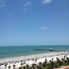Photo taken at Clearwater Beach by Vipul S. on 6/30/2012