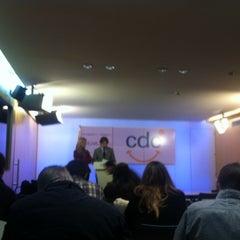 Photo taken at Convergència Democràtica de Catalunya by J. Julio D. on 2/27/2012