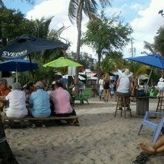 Photo taken at Cruzan Rum Bar by Lil B on 3/25/2012