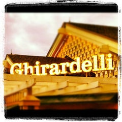 Photo taken at Ghirardelli Soda Fountain & Chocolate Shop by Michael C. on 6/22/2012
