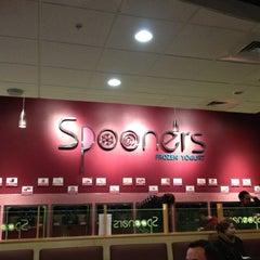Photo taken at Spooners Frozen Yogurt by Brendan B. on 2/26/2012