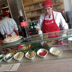 Photo taken at Vapiano by Leon G. on 4/8/2012