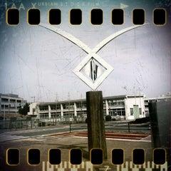 Photo taken at 建設技術50周年記念碑 by GATTACA on 3/3/2012