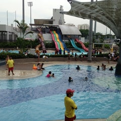 Photo taken at Sengkang Swimming Complex by Adrian Kristofferson D A. on 6/2/2012