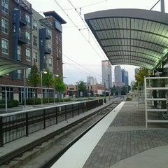 Photo taken at Baylor Medical Center Station (DART Rail) by John U. on 8/8/2012