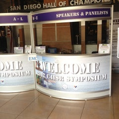 Photo taken at San Diego Hall of Champions Sports Museum by Joseph B. on 5/2/2012