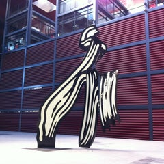 Photo taken at Biblioteca Museo Reina Sofía - Edificio Nouvel by Federico N. on 6/16/2012