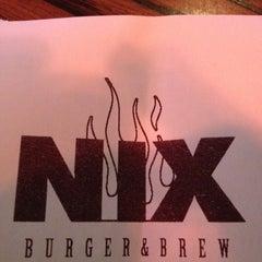 Photo taken at NIX Burger & Brew by Johnny B. on 5/17/2012