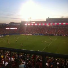 Photo taken at Toyota Stadium by Lucerito N. on 4/6/2012