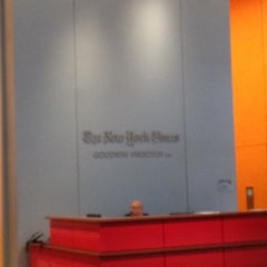 Photo taken at New York Times Building by Anna A. on 5/1/2012