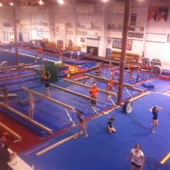 Photo taken at Gymquarters Gymnastics Center by LB P. on 3/15/2012