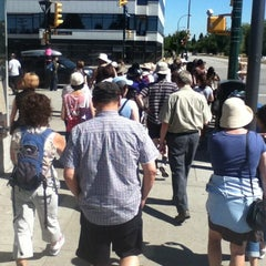 Photo taken at King Edward SkyTrain Station by Adam A. on 8/25/2012