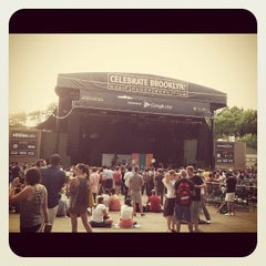 Photo taken at Celebrate Brooklyn!/Prospect Park Bandshell by Emily on 7/10/2012
