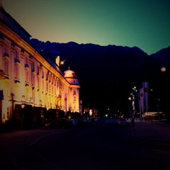 Photo taken at Hofburg Innsbruck by Virginie D. on 8/19/2012