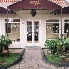 Photo taken at Chocolate Monggo Kotagede by Fahrika N. on 2/9/2012