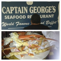 Photo taken at Captain George's Seafood Buffet by Mr robotic T. on 8/19/2012