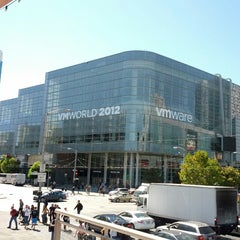 Photo taken at Moscone Center by Martin D. on 8/26/2012