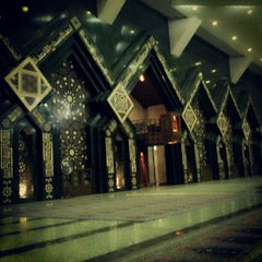 Photo taken at Masjid Agung At-Tin by andika9447 on 6/18/2012