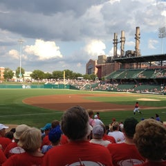 Photo taken at Victory Field by Twinkle V. on 7/16/2012