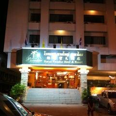 Photo taken at Hatyai Paradise & Resort Hotel (โรงแรมหาดใหญ่พาราไดร์แอนรีสอร์ท) by Air-Air M. on 6/3/2012