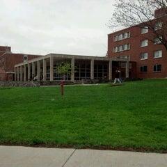 Photo taken at Flint Hall by Rita B. on 4/22/2012