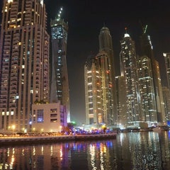 Photo taken at Dubai Marina Walk ممشى مرسى دبي by Varghese on 6/16/2012