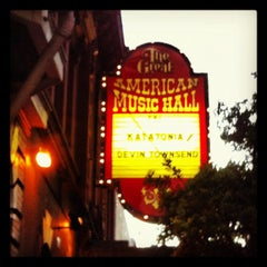 Photo taken at Great American Music Hall by Elad O. on 9/8/2012