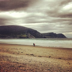 Photo taken at Keel Beach by Mont S. on 6/2/2012