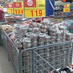 Photo taken at Auchan Hypermarket by Ashwin V. on 4/28/2012