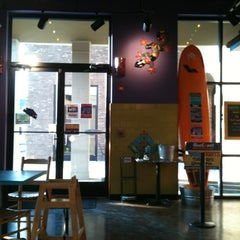 Photo taken at Blue Coast Burrito by Andy W. on 5/24/2012