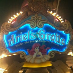 Photo taken at Ariel's Grotto by Patrick B. on 8/16/2012