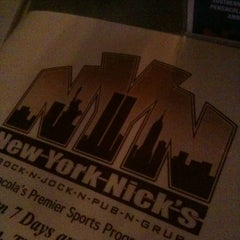 Photo taken at New York Nick's by Daniel L. on 4/10/2012