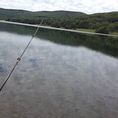 Photo taken at Quaker Lake by Scott N. on 6/8/2012