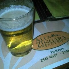 Photo taken at Alla Zíngara Restaurante by Natan D. on 6/22/2012