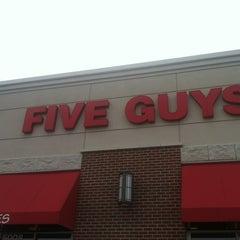 Photo taken at Five Guys by Stefani B. on 6/30/2012