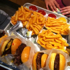 Photo taken at Shake Shack by Philippa W. on 8/6/2012