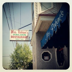 Photo taken at Mrs. Robino's Restaurant by Kathy d. on 5/19/2012